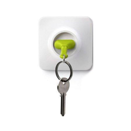 Chaveiro com Porta Chaves Tomada - verde