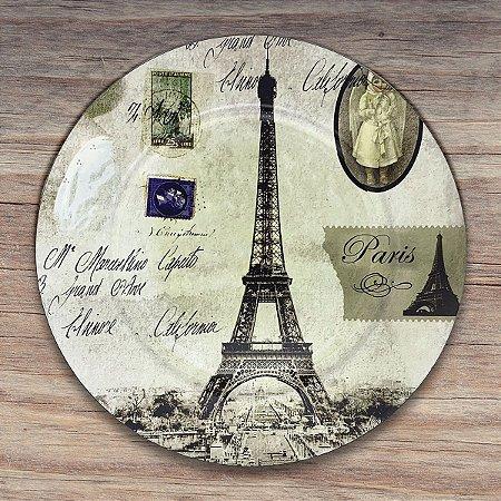 Sousplat Paris Torre Eiffel