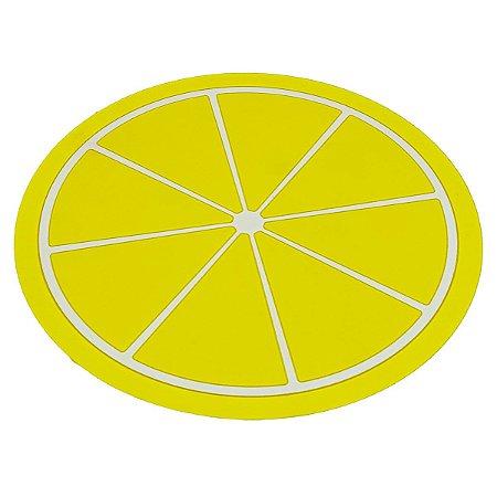 Suporte para Panela em silicone Limão