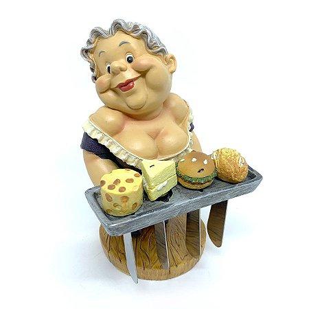 Kit Estátua com Espátulas para manteiga - 5 peças