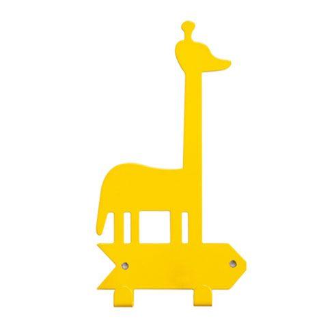 Cabideiro Girafa - amarelo