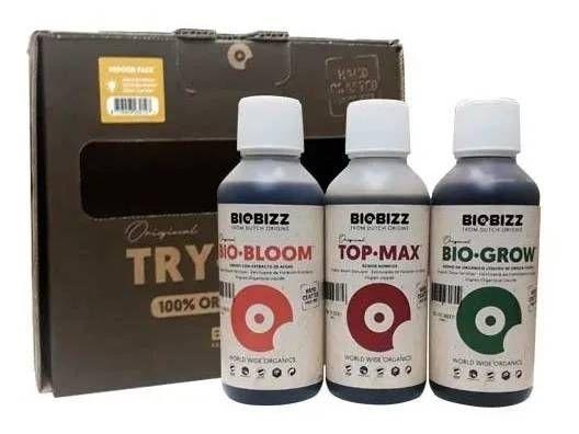 TRYPACK INDOOR com Top-Max BIOBIZZ