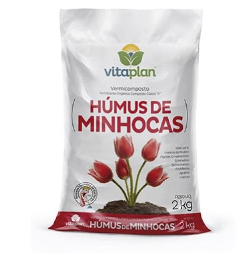 HUMUS DE MINHOCA 2,0 KG VITAPLAN