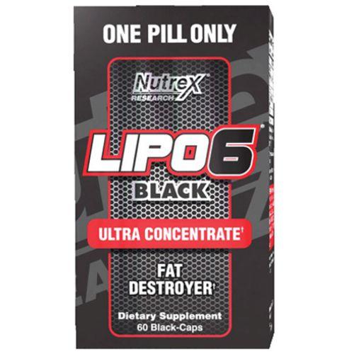 Lipo 6 Black Ultra Concentrado 60caps - Nutrex