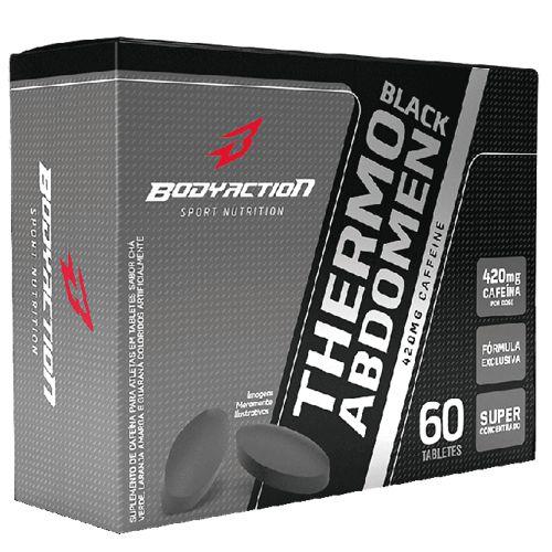 Thermo Abdomen Black 60tabs - Body Action