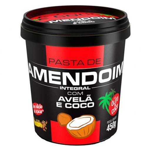 Pasta de Amendoim com Avelã e Coco 450g - Mandubim
