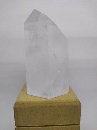 Ponta De Cristal Gerador - Sextavado - Super Ponta de Cristal 628 - 10,5 Centímetros