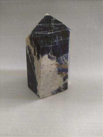 Ponta de Cristal Gerador - Sodalita 188 - Sextavado
