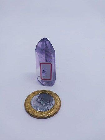 Ponta De Cristal Gerador - Ametista - Sextavado - 100% Natural - 17 Gramas