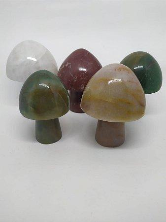 Cogumelo de Cristal - Cristais em Formato de Cogumelo