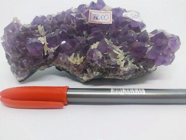 Drusa de Ametista 550 - Pedra Bruta Natural
