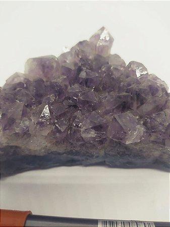Drusa de Ametista 572 - Pedra Bruta Natural