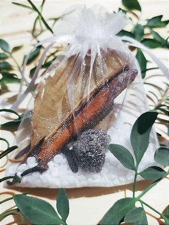 Saquinho da Prosperidade! Um mix de Pedras e Ervas para atrair a Prosperidade e a Abundância para sua vida!