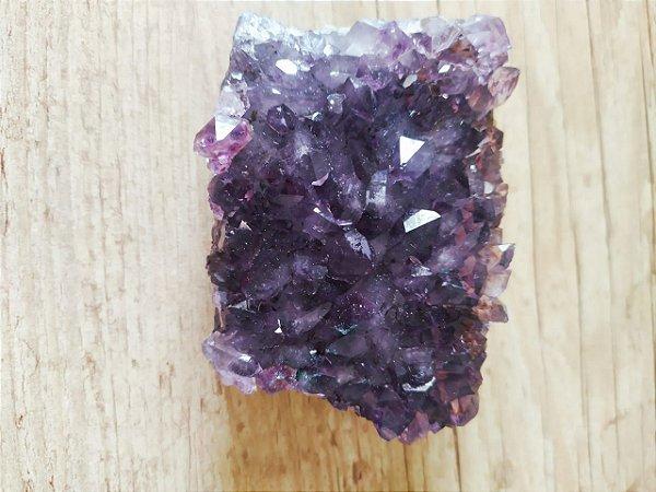 Drusa de Ametista 188 - Pedra Bruta Natural