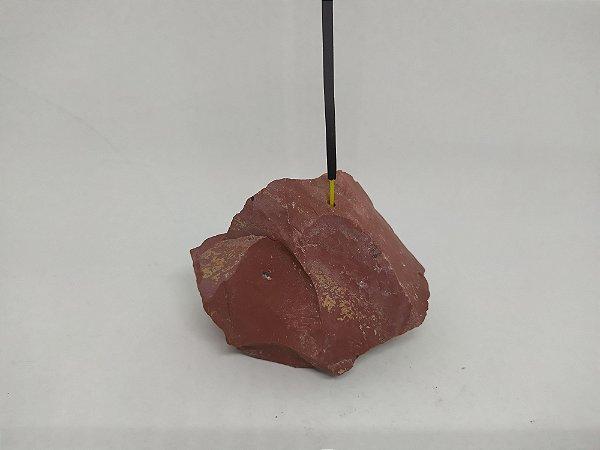 Porta Incenso / Incensário de Pedra Bruta Natural - Pedras Pequenas 100% Naturais e Brutas