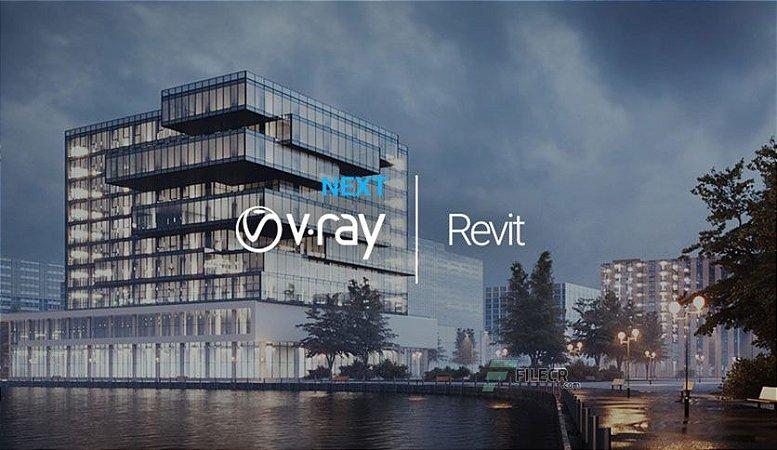 V-Ray Advanced 5.10.07 for Revit 2018-2022