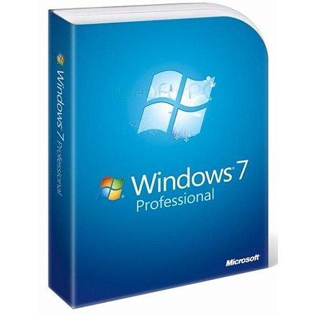 MICROSOFT WINDOWS 7 PROFESSIONAL -  32 / 64 BITS - (DOWNLOAD) + NOTA FISCAL