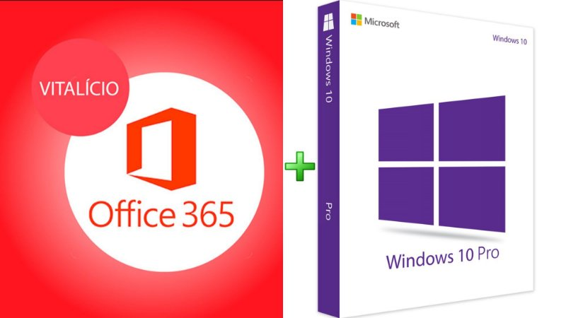 MICROSOFT OFFICE 365 2020 VITALÍCIO – 5 LICENÇAS (PC, MAC, ANDROID OU IOS) + 1 TB DE HD VIRTUAL + WINDOWS 10 PRO – 32/64 BITS VITALÍCIO – (DOWNLOAD - ESD)
