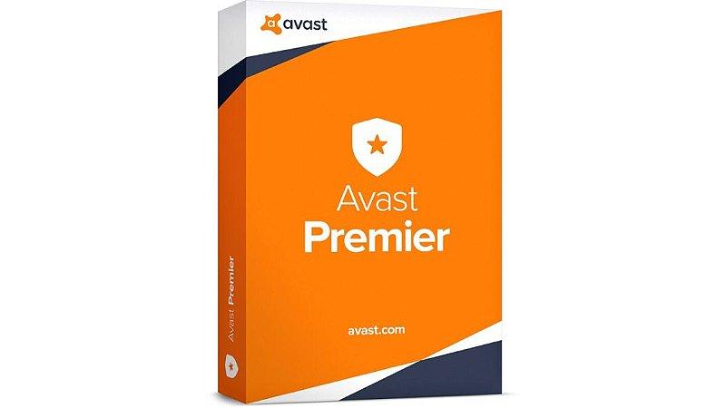 Avast Premier 2019 + Chave Original + Cleanup + 5 Pcs