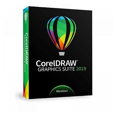 CorelDRAW Graphics Suite 2019 p/ Windows licença vitalícia com NF-e (Download)
