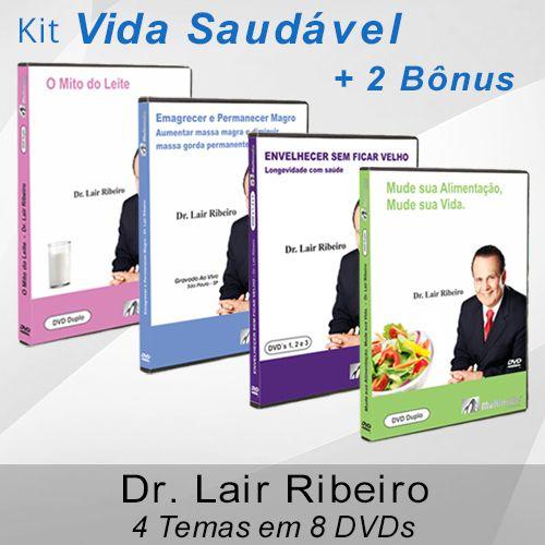 Kit Vida Saudável - Dr. Lair Ribeiro