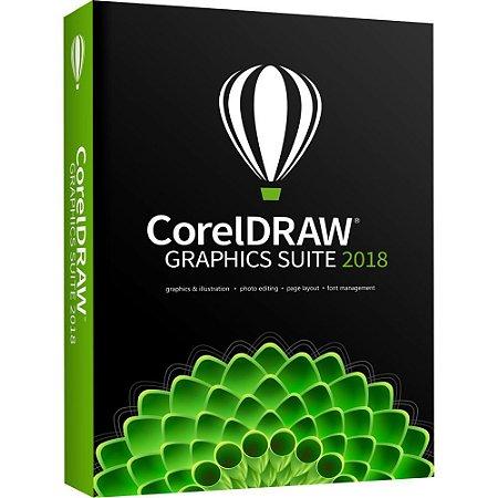 CorelDRAW Graphics Suite 2018 licença vitalícia p/ Windows (Download)