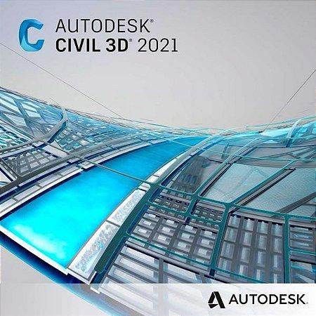 Autodesk Civil 3D 2021 Vitalício