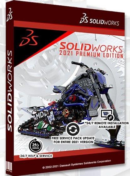 SolidWorks Premium 2021 Vitalício