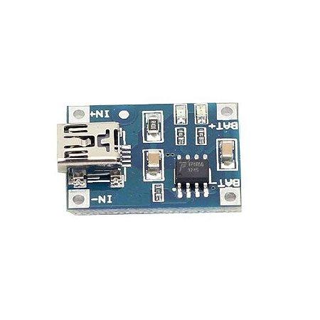 Módulo Carregador Bateria Lítio 1A TP4056
