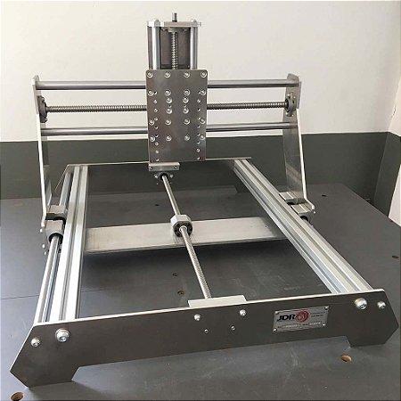 CNC Router - Kit Mecânico A6550 em alumínio com Fusos de Esferas