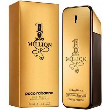 1 Million by Paco Rabanne 100ml - Lacrado