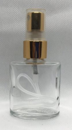 Decant/Porta Perfume Simples- 25 ml C/ Spray