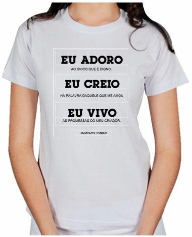 c7530f674 camiseta evangélica - Moda Tri