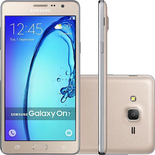 Smartphone Samsung Galaxy On7 - Tela 5.5 - Câmera 13mp