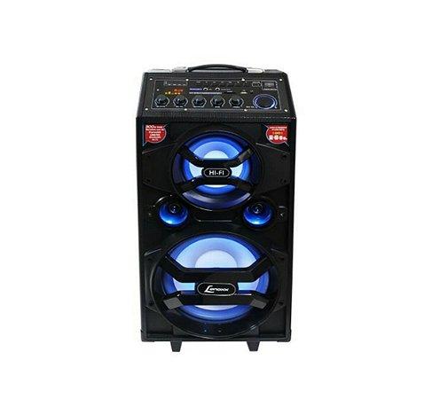Caixa De Som Amplificadora Bluetooth Lenoxx 300w - Ca 318