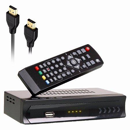 Conversor Receptor Digital Tv Full Hd 1080p Hdmi Rca Tv Tubo