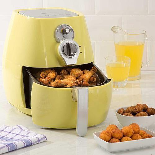 Fritadeira Sem Óleo Retrô Fritalight 3l - Amarela