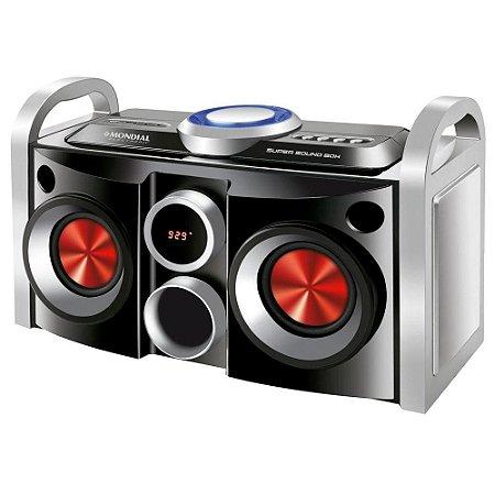 Mini System Mondial - Usb,auxiliar,cartão Micro Sd,rádio  - MS08B