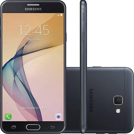 """Smartphone Samsung Galaxy J5 Prime Dual Chip Android 6.0 Tela 5"""" Quad-Core 1.4 GHz 32GB 4G Wi-Fi Câmera 13MP com Leitor de Digital - PRETO"""