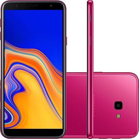 "Smartphone Samsung Galaxy J4+ 32GB Dual Chip Android Tela Infinita 6"" Quad-Core 1.4GHz 4G Câmera 13MP - Rosa"