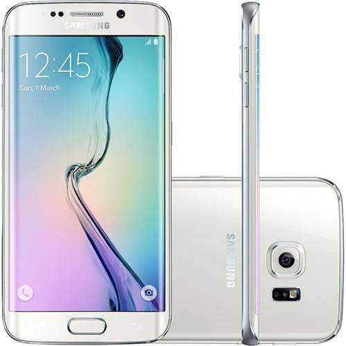 "Smartphone Samsung Galaxy S6 Edge Desbloqueado Vivo Android 5.0 Tela 5.1"" 64GB 4G 16MP"