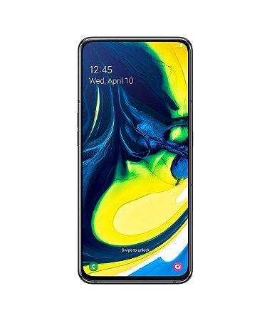 """Smartphone Samsung Galaxy A80 128GB Dual Chip Tela Infinita de 6,7"""" Leitor de Digital na Tela, Câmera Tripla Rotativa de 48MP + 8MP (UW) + ToF (Scanner 3D)"""