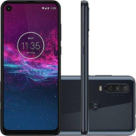 "Smartphone Motorola One Action 128GB Dual Android Pie 9.0 Tela 6.3"" Exynos 9609 (S925) 4G Câmera 12+5+16MP (Quad Pixe)"