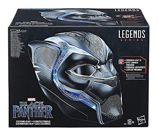 Capacete  Eletrônico Marvel Legends Pantera Negra Hasbro