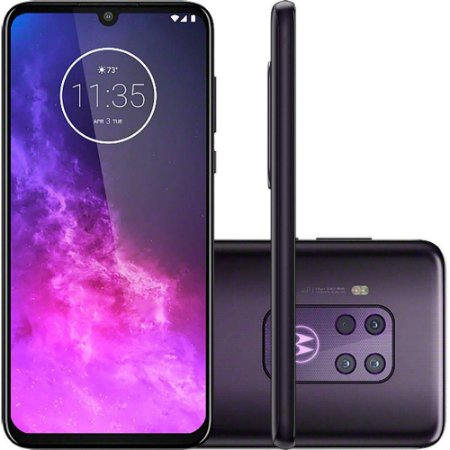 "Smartphone Motorola One Zoom 128GB Dual Chip Android Pie 9.0 Tela 6.4"" Qualcomm Snapdragon 675 (SM6150) 4G Câmera 25MP"