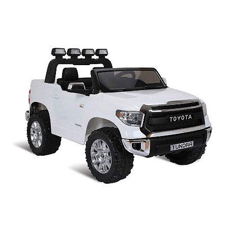 Pick Up Toyota Branca R/C Elétrica 12V - Bandeirante