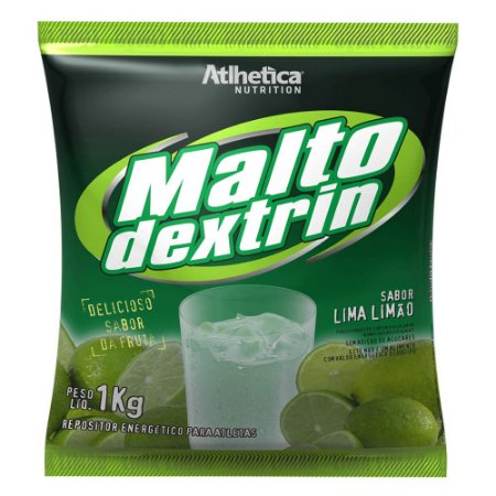 Maltodextrina Maltodextrin Atlhetica Nutrition - Sabor Limão