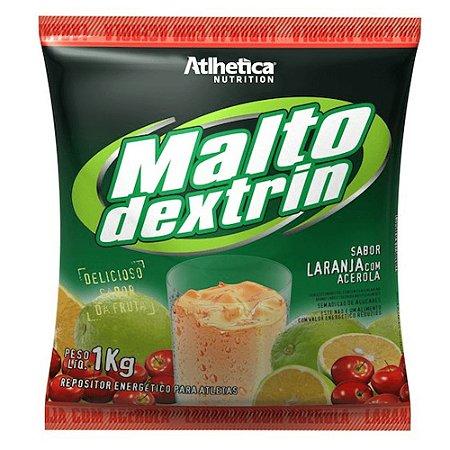 Maltodextrina Maltodextrin Atlhetica Nutrition - Sabor Laranja