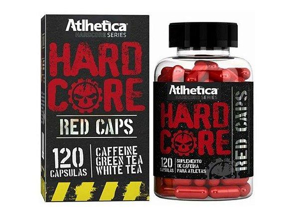 Hardcore Red Caps 120 Cápsulas - Atlhetica Nutrition