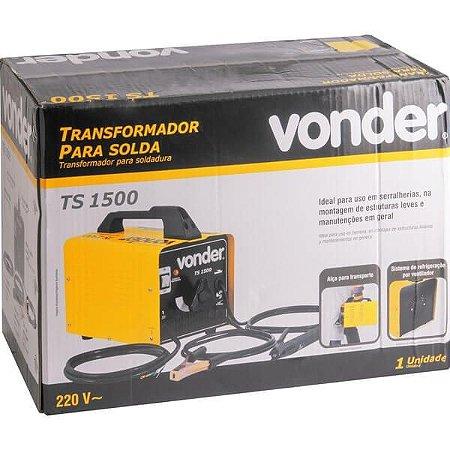 Máquina Transformadora de Solda 150A 220V TS 150- VONDER